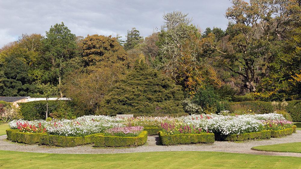 Dunvegan Castle Garten