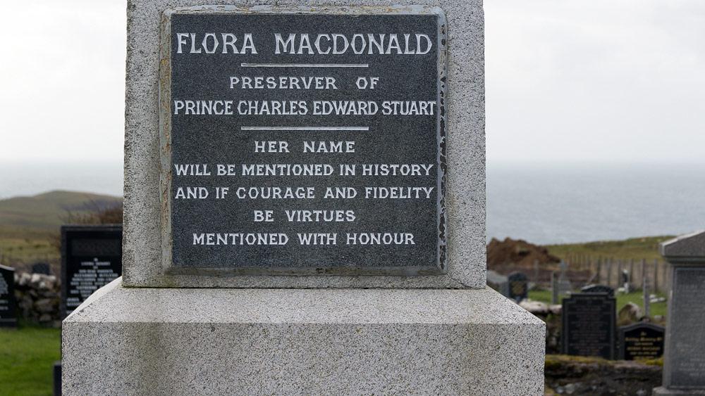 Flora MacDonalds Grabinschrift