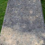 Kilmuir Friedhof Grabplatte unvollendet