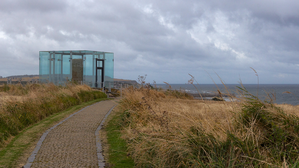 Shandwick Stone und das Meer