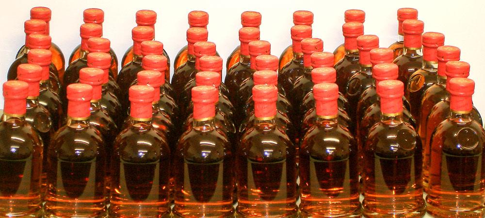 40 Flaschen Whisky