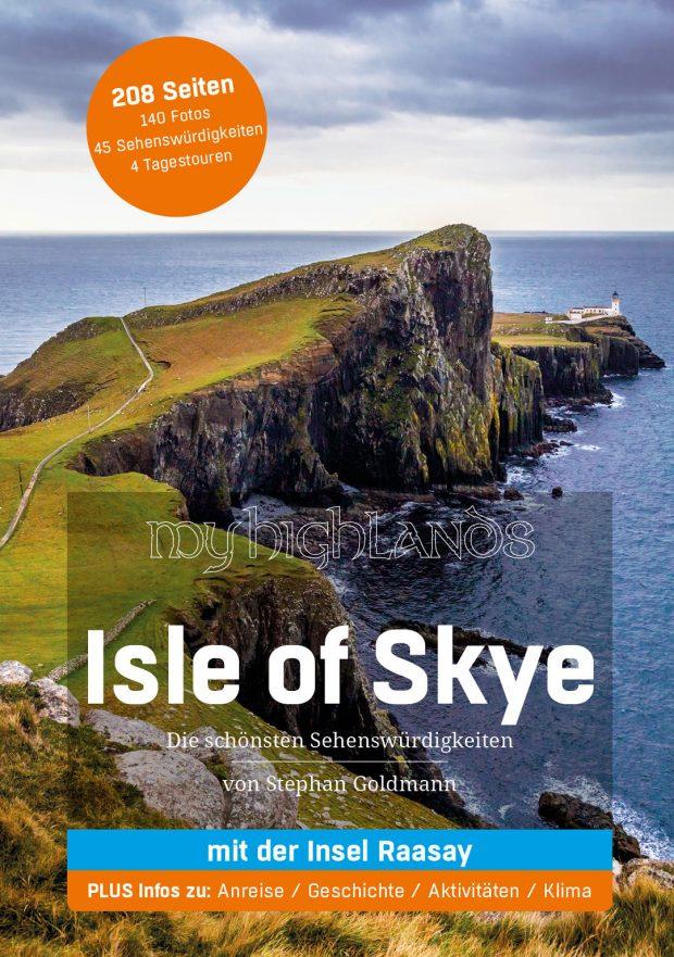Das Cover des Mighlands Reiseführers