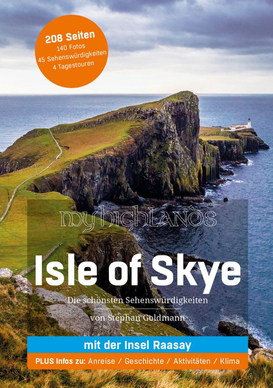 "Das Cover des Mighlands Reiseführers ""Isle of Skye"""