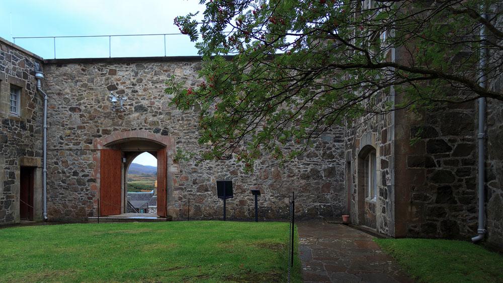 Duart Castle Eingang