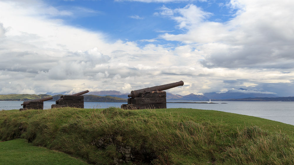 Duart Castle Kanonen