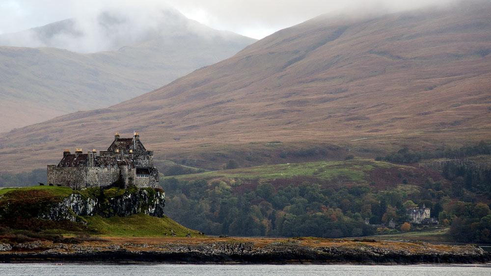 Duart Castle und Mull