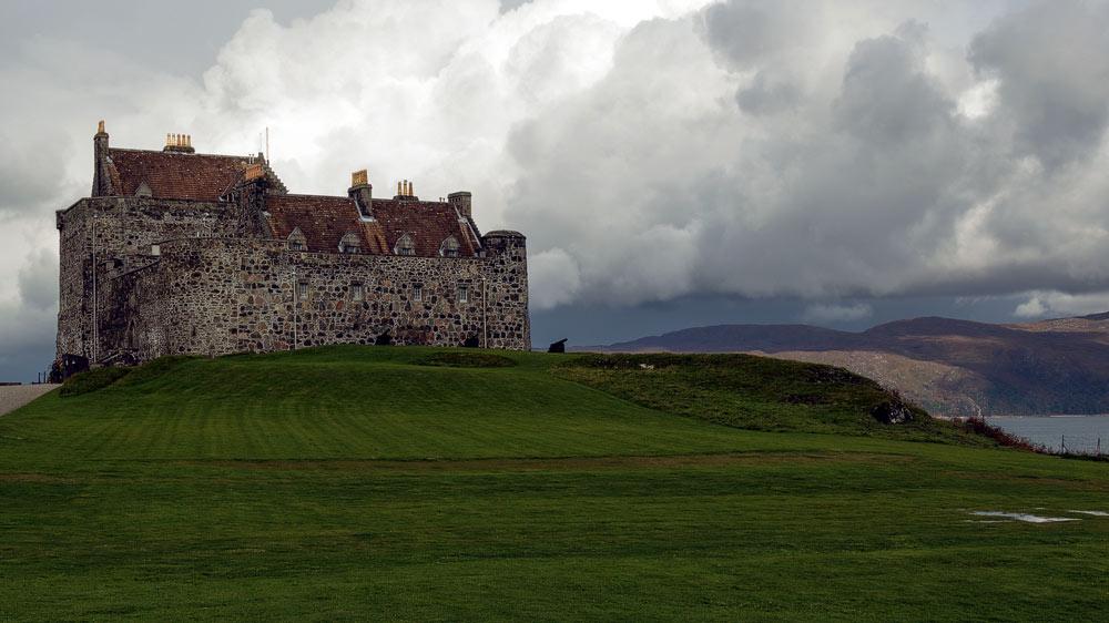 Duart Castle vorne