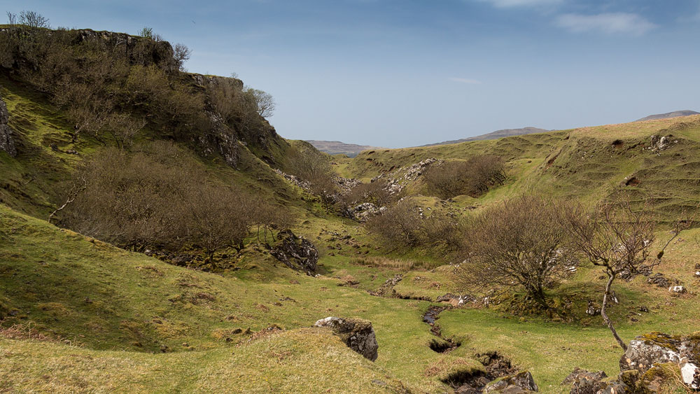 Fairy Glen abseits