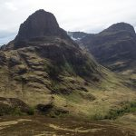 Zwei der Three Sisters of Glen Coe