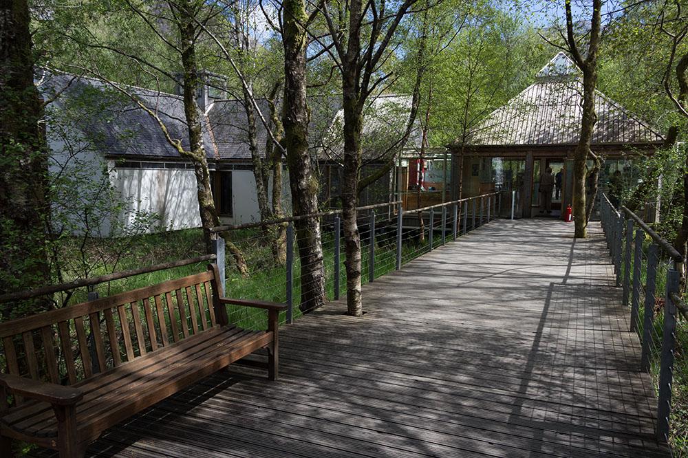 Glencoe Visitor Centre Steg