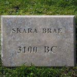 Skara Brae Schild