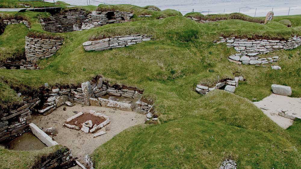 Überblick über Skara Brae