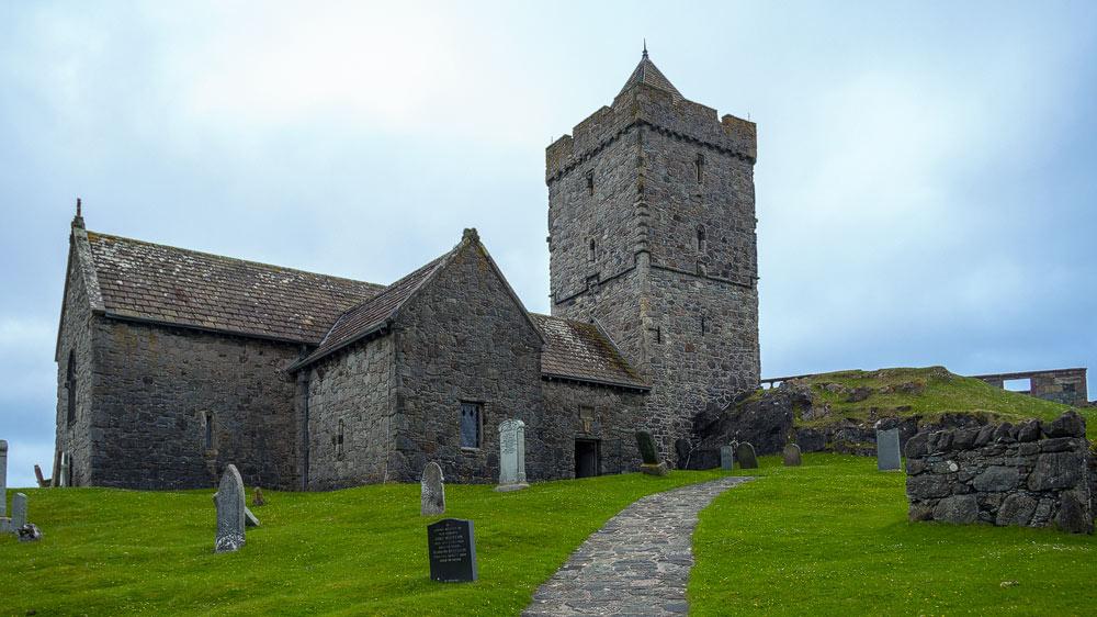St Clement's Church Rodel - Alterssitz eines MacLeod-Chiefs