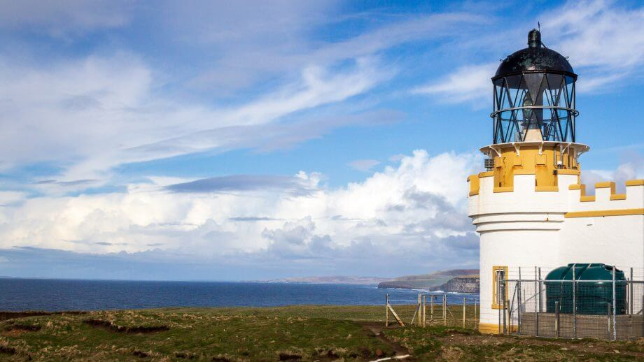 Brough of Birsay Leuchtturm