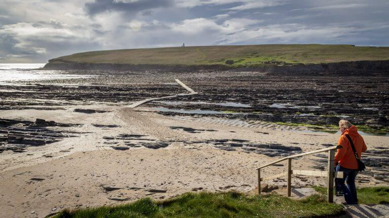 Brough of Birsay Treppe