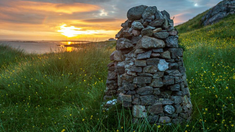 Denkmal Bonnie Prince Charlie Eriskay
