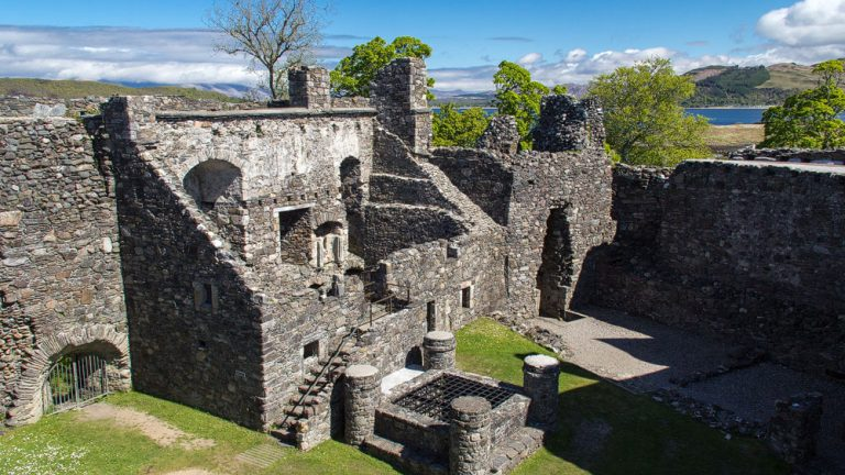 Dunstaffnage Castle Hof