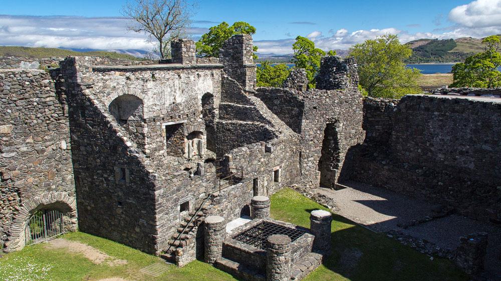 Dunstaffnage Castle Hof