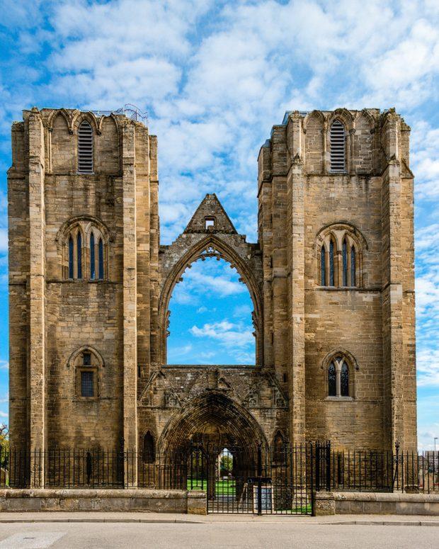 Die beiden vorderen Türme der Kathedrale