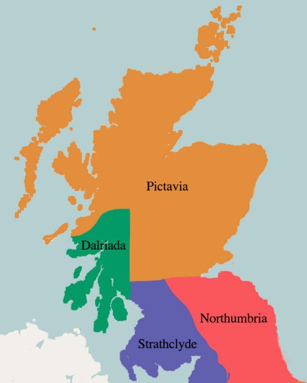 Karte Pictavia