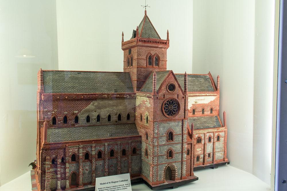 St Magnus Kathedrale Modell