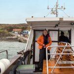 An Bord der Heather Grace