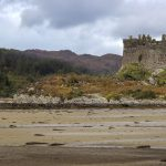 Tioram Castle auf einer Insel