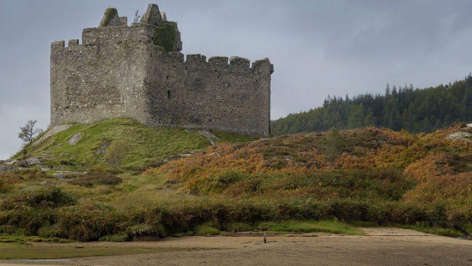 Castle Tioram andere Seite