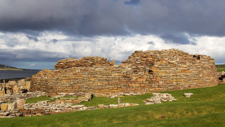 Broch of Gurness andere Seite