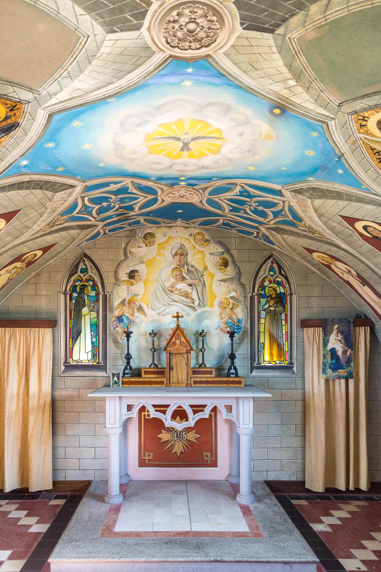 Italian Chapel Deckengemälde