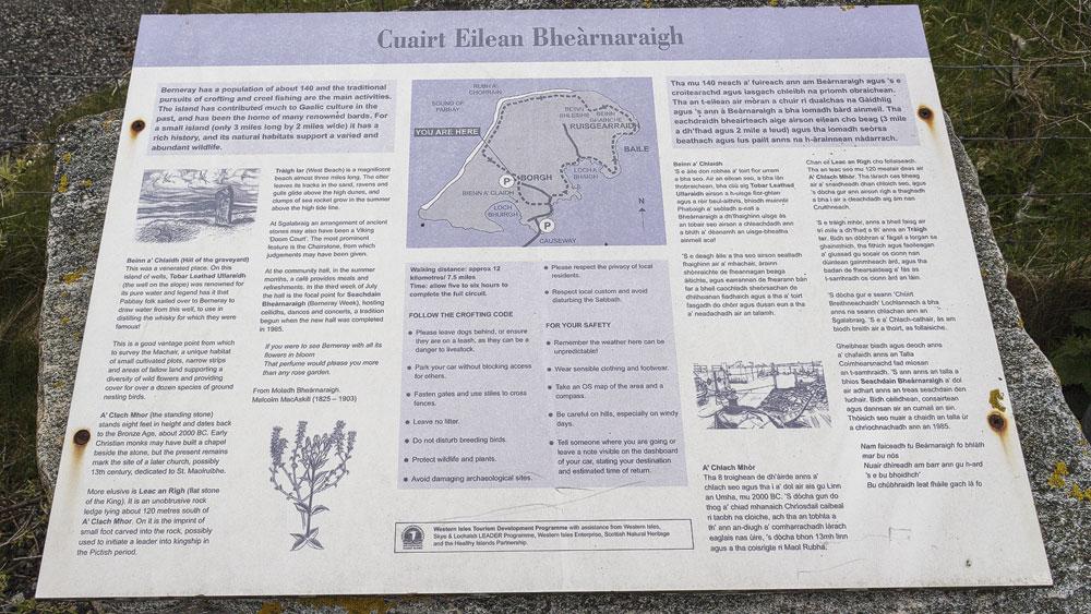 Berneray Wanderrundweg