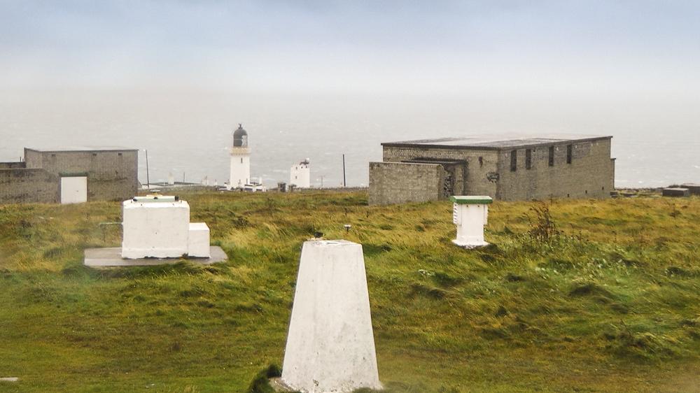 Die alte Radarstation am Dunnet Head