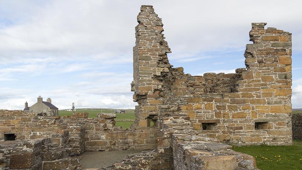 Earls Palace Birsay Turm