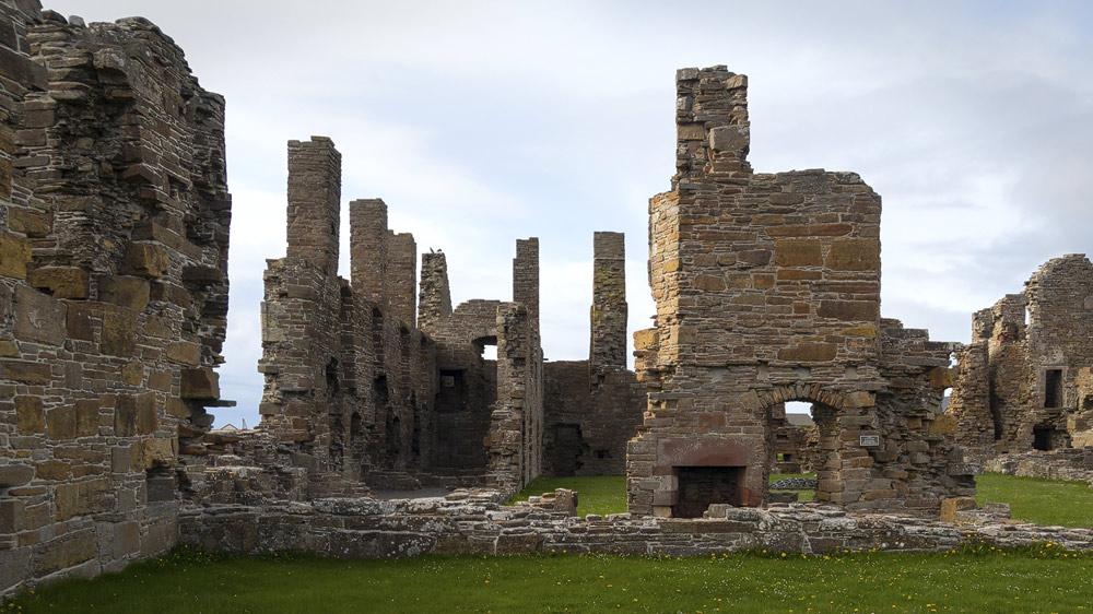 Earls Palace Birsay Kamin