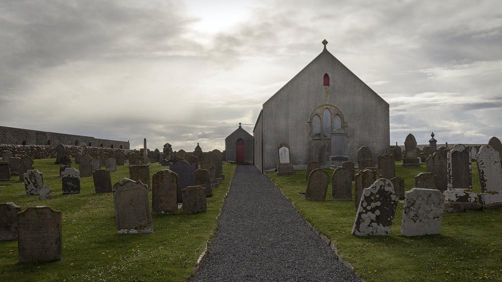 St Magnus Kirche bei Birsay