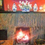 Navidale House Kamin Bar
