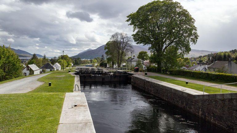 Blick nach Loch Linnhe