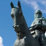 Robert the Bruce Denkmal Bannockburn