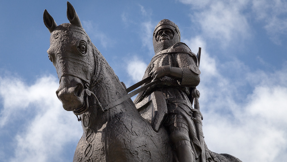 Robert the Bruce als Denkmal