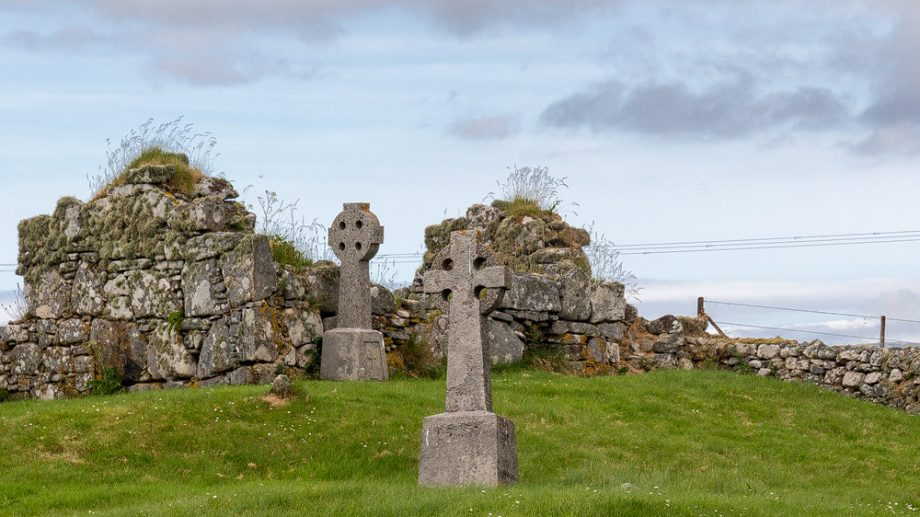 Clanranald's Chapel in Howmore