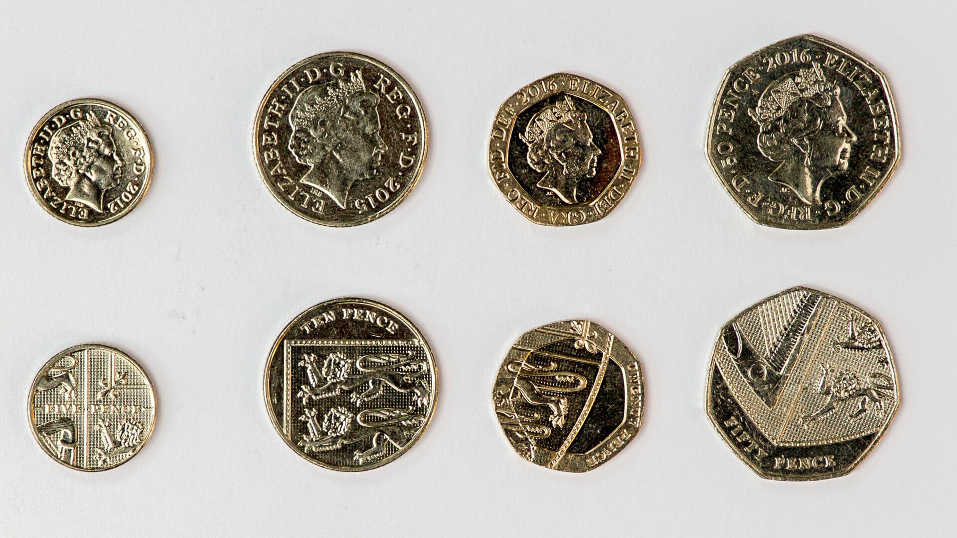 Geld Wechseln Für Den Schottland Urlaub