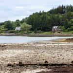 Loch Slapin bei Fluss-Mündung