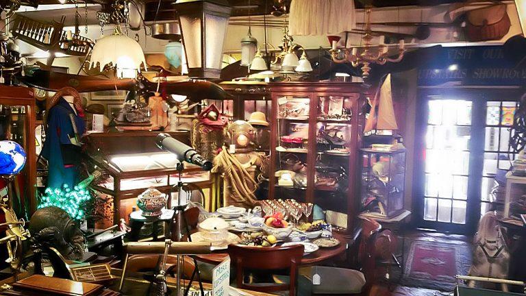 Courtyard-Antiques-Verkaufsraum