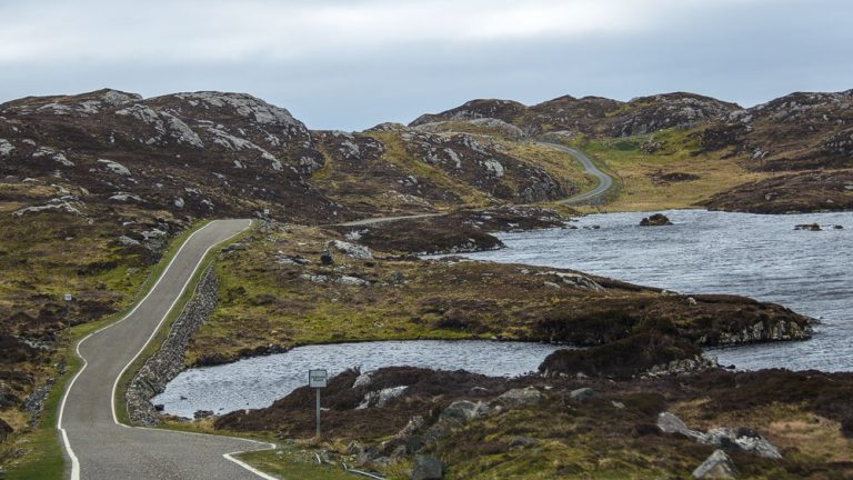 Golden Road auf Harris
