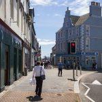 Stornoway Einkaufstraße