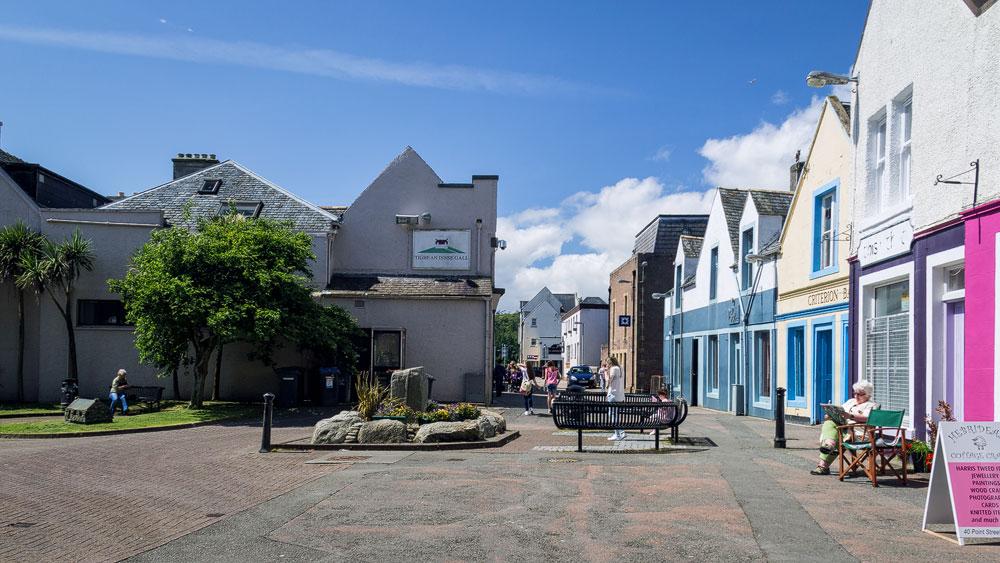 Stornoway: Platz vor Town Hall
