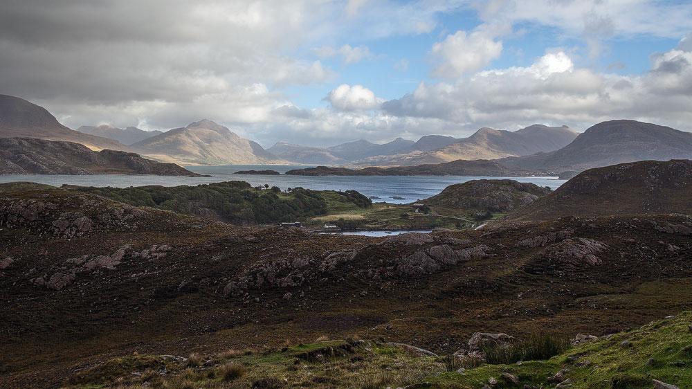 Loch Shieldaig und Torridon-Massiv