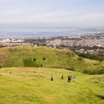 Rugby-Kick am Arthur's Seat 3