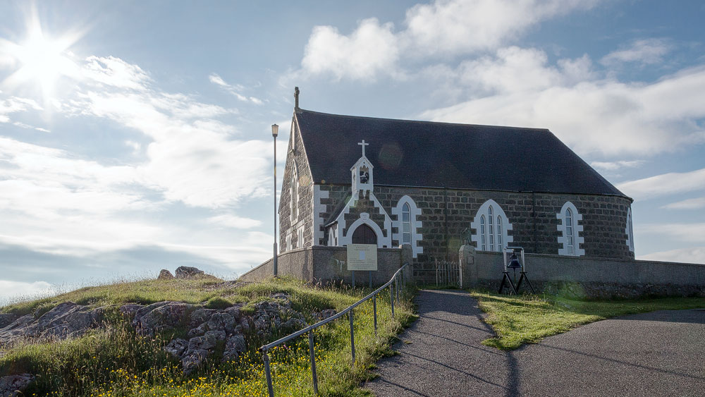 St Michaels Church auf Eriskay