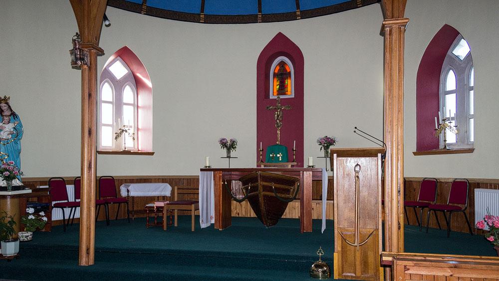 St Michaels Church vorne